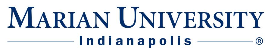 Marian University (IN) logo